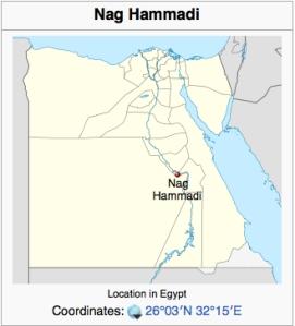 Nag Hammadi map