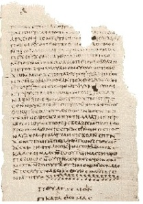 The end of The Gospel of Thomas from the Nag Hammadi Library.