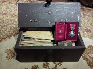 Thomas G. Scott box open