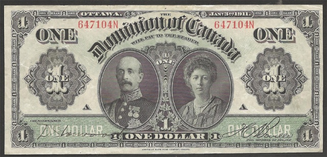 dominion-of-canada-1911-one-dollar-bill