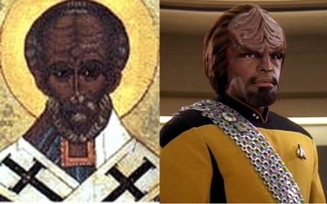 santa-klingon