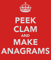 peek-clam-and-make-anagrams