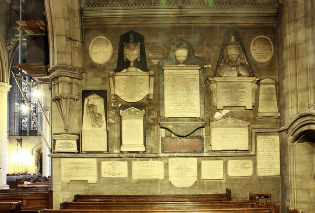 St_Mary_Abbots,_Kensington_High_Street,_London_W8_-_Wall_monuments_-_geograph.org.uk_-_1590137