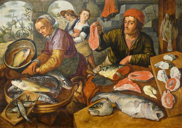 800px-Joachim_Beuckelaer-Marché_aux_poissons