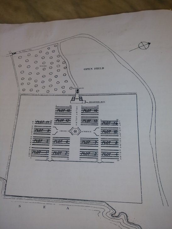 Map of the Suda Bay Cemetery