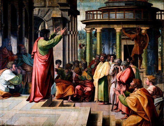 1024px-V&A_-_Raphael,_St_Paul_Preaching_in_Athens_(1515)