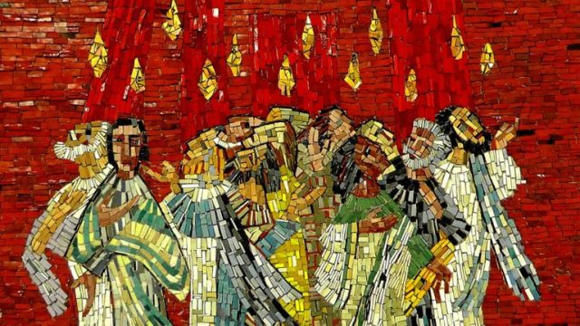 Pentecost Red Picture